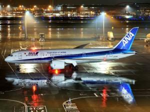 行き(羽田→フランクフルト)に搭乗した(Bowing 787)