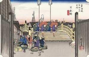 hiroshige日本橋