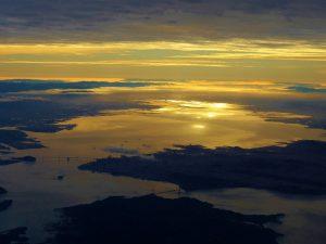 サンフランシスコの夜明け