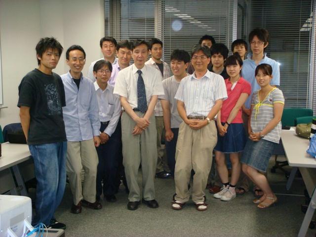 相吉先生,足立研でセミナー ...