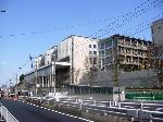 4月に日吉キャンパスに完成する新しい教養課程用の建屋